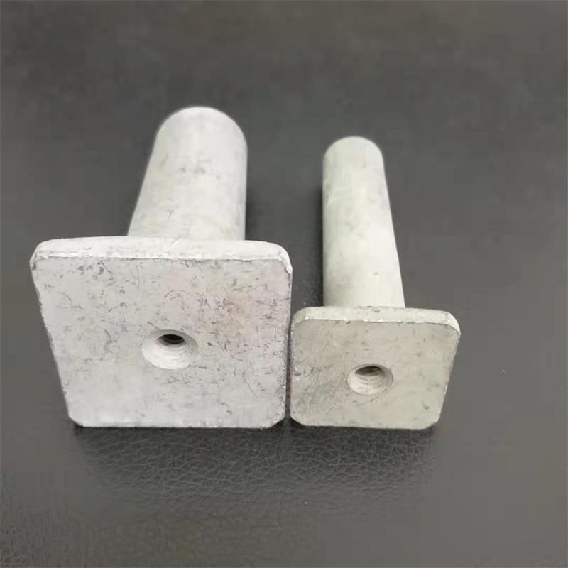 Concrete Foot Ferrules Square Foot