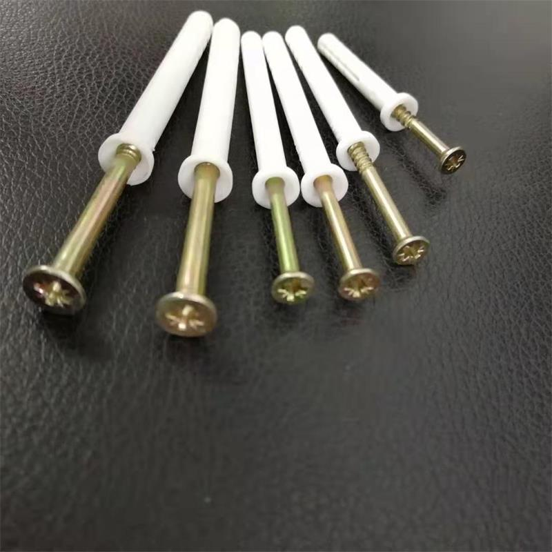 Nylon Hammer Drive Fixings Cylinder Head