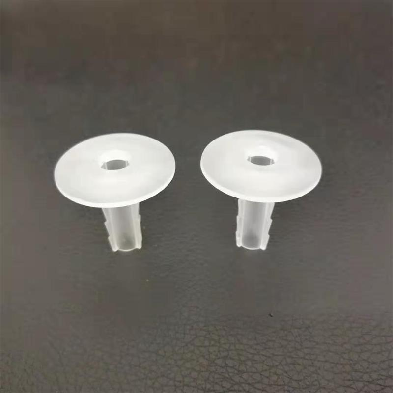 Coaxial Cable Wall Bushing Clear 8.0 mm