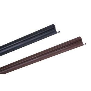 Cable PVC Riser Guard in Brown and Black